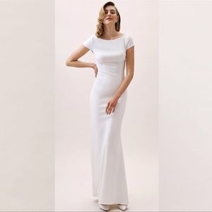 BHLDN Katie May Madison Dress Ivory NWT